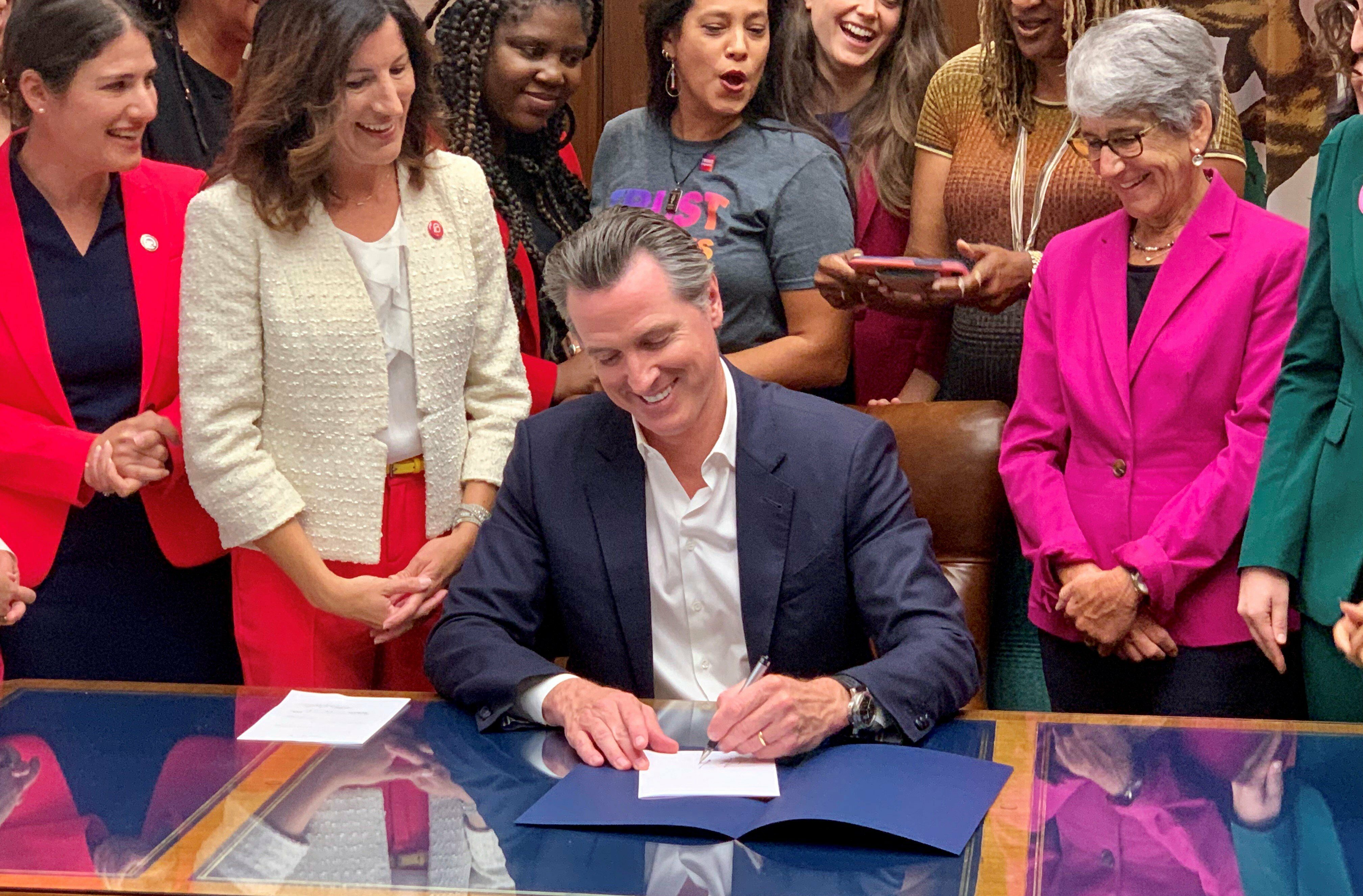 Governor Newsom Signs a Bill to Force State Universities into the Abortion Business